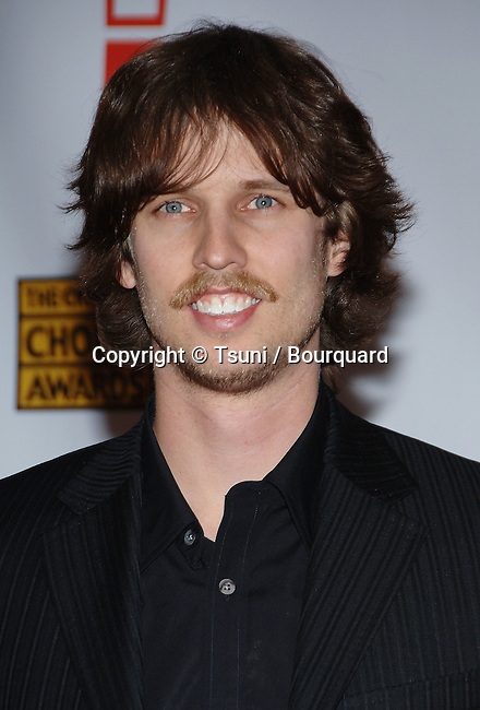Jon Heder arriving at the 12th Annual  Critics Choice Awards ( from the Broadcast Film Association ) at the Santa Monica Civic Auditorium in Los Angeles. January 12, 2007.<br /> <br /> headshot