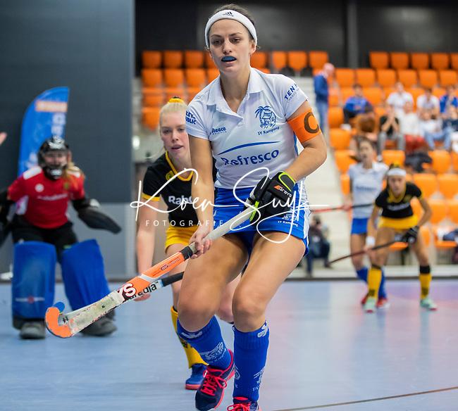 ROTTERDAM  - NK Zaalhockey .Kampong D1-Den Bosch D1 dames voor brons. Kiki van Wijk (Kam)     COPYRIGHT KOEN SUYK