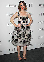 BEVERLY HILLS, CA, USA - OCTOBER 20: Sarah Paulson arrives at ELLE's 21st Annual Women In Hollywood held at the Four Seasons Hotel on October 20, 2014 in Beverly Hills, California, United States. (Photo by Celebrity Monitor)