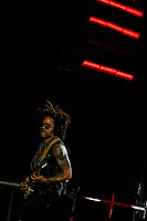 MADRID, SPAIN &ndash; JULY 04: Lenny Kravitz performs live on stage at WiZink Center on July 4, 2018 in Madrid. <br /> CAP/MPI/RJO<br /> &copy;RJO/MPI/Capital Pictures