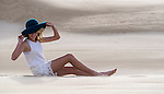 In the sand dunes. Stockton Beach Sand dunes Worimi Conservation Lands. Anna Bay, Port Stephens, NSW, Australia