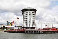Nederland  Rotterdam - 2017.Haven van Rotterdam.  Kantoor van Mammoet.   Foto Berlinda van Dam / Hollandse Hoogte