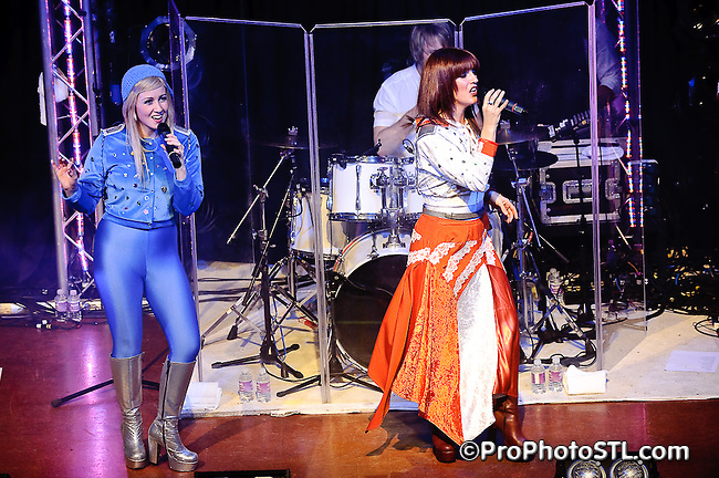 Abba Mania in concert at Voodoo Lounge of Harrah's Casino in St. Louis, MO on Nov 13, 2009.