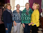 Mary Convery, Karen Sloane, Stephanie Turner and Lizanne Allen at the coffee morning in Annesbrook House Duleek in aid of St. Peters Church of Ireland Drogheda. Photo:Colin Bell/pressphotos.ie