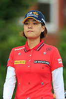 In Gee Chun (KOR) on the 2nd tee during Round 2 of the Ricoh Women's British Open at Royal Lytham &amp; St. Annes on Friday 3rd August 2018.<br /> Picture:  Thos Caffrey / Golffile<br /> <br /> All photo usage must carry mandatory copyright credit (&copy; Golffile | Thos Caffrey)