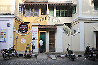 A cafe cum resturant in the French colony of Pondicherry. Arindam Mukherjee