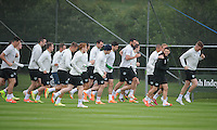 24th May 2014, General view of the Republic of Ireland Squad during a Training session ahead of their International match against Turkey on Sunday, Gannon Park, Malahide, Co Dublin. Picture credit: Tommy Grealy/actionshots.ie.