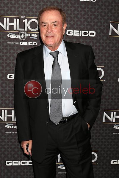 Al Michaels<br /> at the The NHL100 Gala, Microsoft Theater, Los Angeles, CA 01-27-17<br /> David Edwards/DailyCeleb.com 818-249-4998