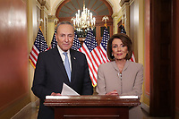 Democratic Leadership House Speaker Nancy Pelosi And Sen. Chuck Schumer Issue Response To President'