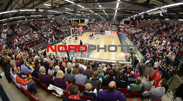07.12.2013, Artland Arena, Quakenbrueck, GER, BEKO BBL, Artland Dragons vs Bayern Muenchen,   im Bild<br /> <br /> Artland Arena Quakenbr&uuml;ck, <br /> <br /> Foto &copy; nordphoto / Kamper
