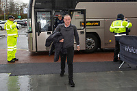Steve Cooper Head Coach of Swansea City arrives for the Sky Bet Championship match between Swansea City and Millwall at the Liberty Stadium in Swansea, Wales, UK. Saturday 23rd November 2019