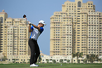 Calum Hill (SCO) during round 2, Ras Al Khaimah Challenge Tour Grand Final played at Al Hamra Golf Club, Ras Al Khaimah, UAE. 01/11/2018<br /> Picture: Golffile | Phil Inglis<br /> <br /> All photo usage must carry mandatory copyright credit (&copy; Golffile | Phil Inglis)