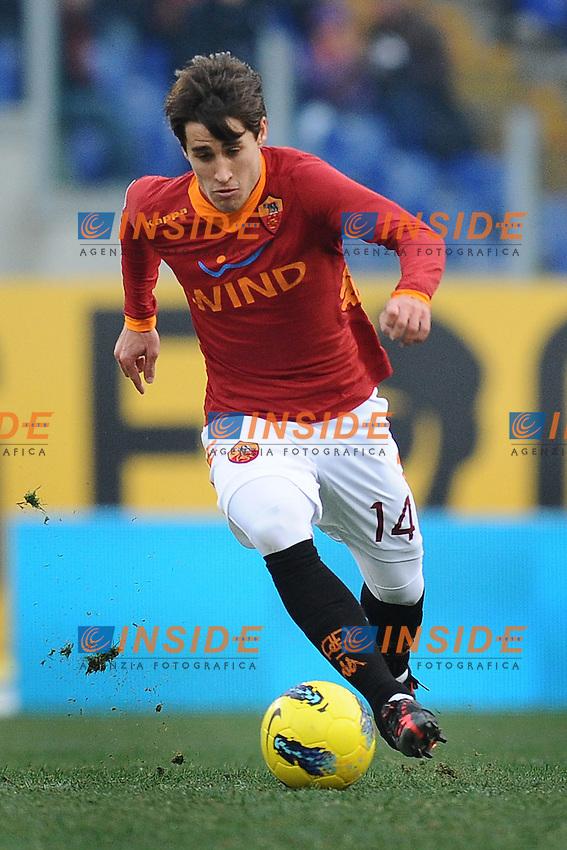 Krkic Bojan (Roma).Roma, 05/02/2012 Stadio Olimpico.Football Calcio 2011/2012 .Roma vs Inter 4-0.Campionato di calcio Serie A.Foto Insidefoto Antonietta Baldassarre