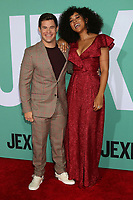 "LOS ANGELES - OCT 3:  Adam DeVine, Alexandra Shipp at the ""Jexi"" Premiere at the Bruin Theater on October 3, 2019 in Westwood, CA"
