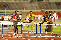 Dawn Harper(627) ran 12.78 to win the 100m hurdles at the Jamaica International Invitational Meet on Saturday May 2nd. 2009. Photo by Errol Anderson,The Sporting Image.net