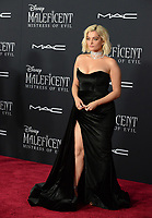"LOS ANGELES, USA. September 30, 2019: Bebe Rexha at the world premiere of ""Maleficent: Mistress of Evil"" at the El Capitan Theatre.<br /> Picture: Jessica Sherman/Featureflash"