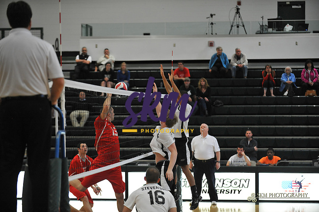 Mustangs defeat the SpartansMustangs defeat the Spartans of D'Youville College in men's volleyball Monday evening at Stevenson gymnasium.