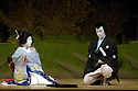 Kabuki from Tokyo. Kasane with Ebizo Ichikawa XI,Kamejiro Ichikawa II. Opens at Sadlers Wells Theatre on 31/5/06. CREDIT Geraint Lewis