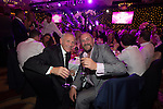 Peter Reid with actor Charles Dale at the gala dinner.<br /> The Celebrity Cup 2015<br /> Celtic Manor Resort<br /> <br /> 04.07.15<br /> &copy;Steve Pope - SPORTINGWALES