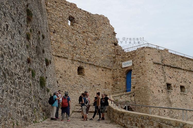 Tabarka, Tunisia, 18 Settembre 2018<br /> Il Forte genovese