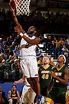 BROOKINGS, SD - DECEMBER 28:  Tevin King #2 from South Dakota State lays the ball up against North Dakota State during their game Wednesday night at Frost Arena in Brookings. (Dave Eggen/Inertia)