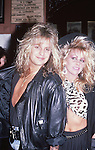 Vince Neil & Sharise Neil in Hollywood May 1987.