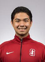 STANFORD, CA - December 9, 2016:  Stanford Men's Tennis Portraits, Team Photos