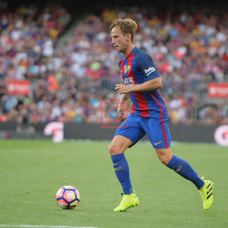 League Santander 2016/2017. Game: 1.<br /> FC Barcelona vs Real Betis: 6-2.<br /> Ivan Rakitic.