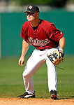16 March 2007: Houston Astros infielder Brooks Conrad in action against the New York Yankees at Osceola County Stadium in Kissimmee, Florida...Mandatory Photo Credit: Ed Wolfstein Photo