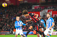 Nathan Ake of AFC Bournemouth clears the ball during AFC Bournemouth vs Huddersfield Town, Premier League Football at the Vitality Stadium on 4th December 2018