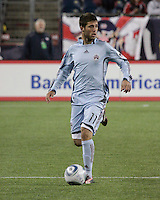 Colorado Rapids midfielder Colin Clark (11).  The Colorado Rapids defeated the New England Revolution, 2-1, at Gillette Stadium on April 24.2010