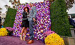 November 2, 2018: A couple poses in front of the Aston Martin flower wall on Breeders' Cup World Championship Friday at Churchill Downs on November 2, 2018 in Louisville, Kentucky. Scott Serio/Eclipse Sportswire/CSM