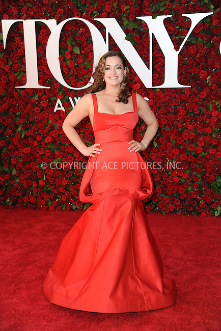 www.acepixs.com<br /> June 12, 2016  New York City<br /> <br /> Laura Michelle Kelly attends the 70th Annual Tony Awards at The Beacon Theatre on June 12, 2016 in New York City.<br /> <br /> Credit: Kristin Callahan/ACE Pictures<br /> <br /> <br /> Tel: 646 769 0430<br /> Email: info@acepixs.com