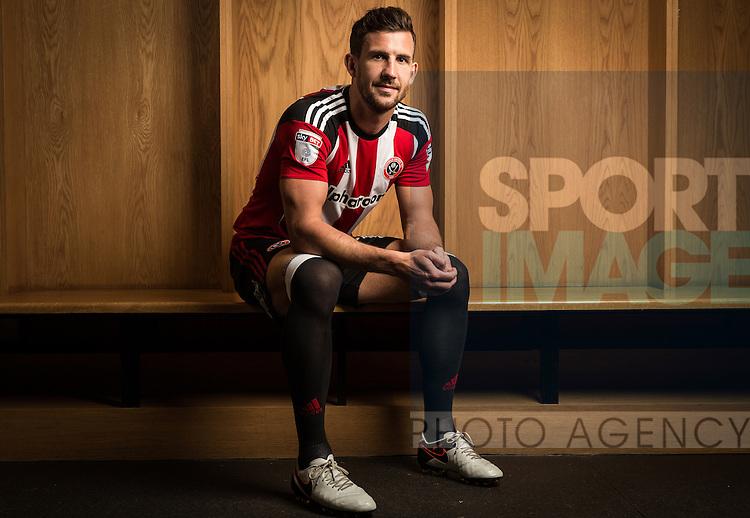 Jake Wright of Sheffield Utd