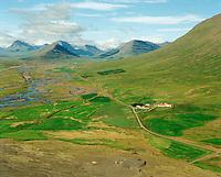 Skriða séð til vesturs, Hörgárbyggð áður Skriðuhreppur. / Skrida viewing west, Horgarbyggd former Skriduhreppur.