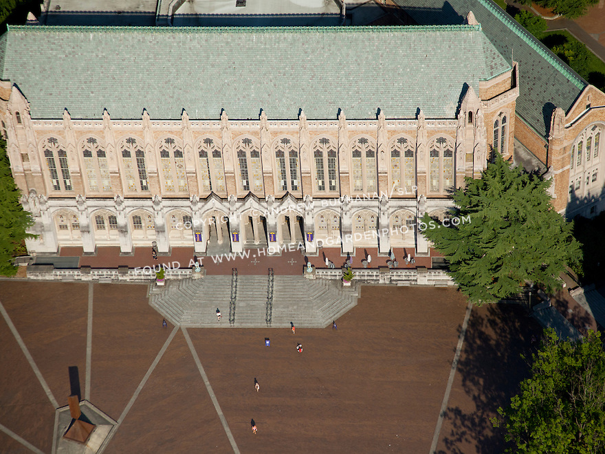 University of Washington, UW,  campus; July, 2013