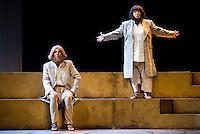 "Pastora Vega and Maria Galiana during theater play ""La Asamblea de las Mujeres"" at Teatro La Latina in Madrid. August 23 2016. (ALTERPHOTOS/Borja B.Hojas) /NORTEPHOTO.COM"