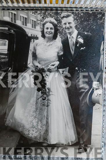 Danny & Eileen Hannon on their wedding day in 1957.