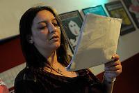 Corso di teatro di Lucia Panaro. Prove dello spettacolo.Arianna D'Arconte.<br /> Theatre course Lucia Panaro. Rehearsals for the show.