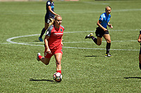 Portland, OR - Saturday July 15, 2017: Lindsey Horan during a regular season National Women's Soccer League (NWSL) match between the Portland Thorns FC and the North Carolina Courage at Providence Park.