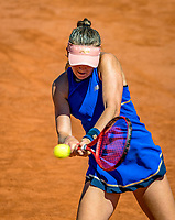 Paris, France, 1 june, 2019, Tennis, French Open, Roland Garros, Joniors, Julie Belgraver (FRA)<br /> Photo: Henk Koster/tennisimages.com