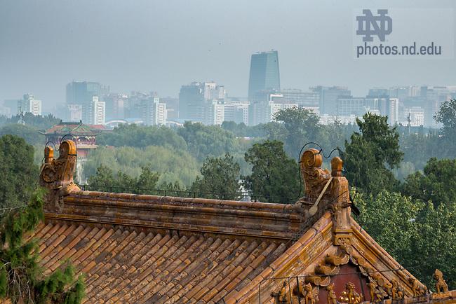 October 15, 2017; Beijing, China (Photo by Matt Cashore/University of Notre Dame)