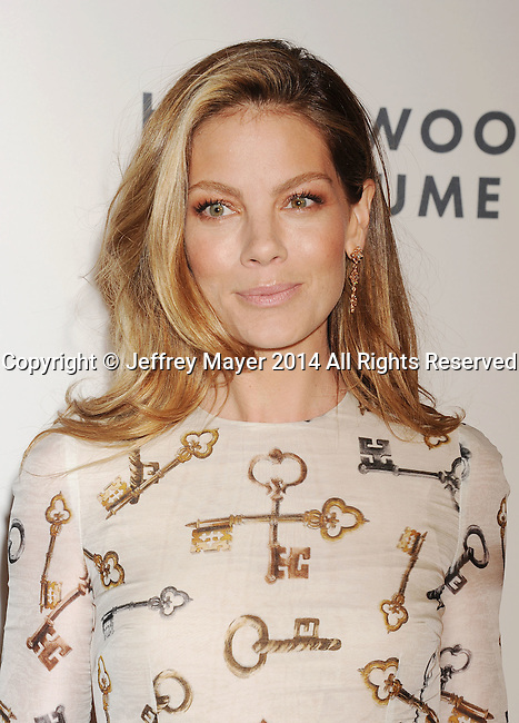 LOS ANGELES, CA- OCTOBER 01: Actress Michelle Monaghan attends The Academy of Motion Picture Arts and Sciences' Hollywood Costume Opening Party at the Wilshire May Company Building on October 1, 2014 in Los Angeles, California.