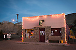 The Joint, Ghost town of Randsburg, Kern County, Calif. in the evening