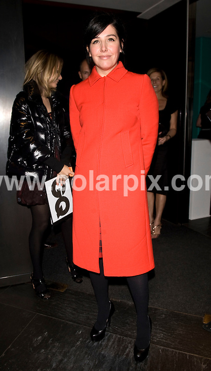 **ALL ROUND PICTURES FROM SOLARPIX.COM**.**WORLDWIDE SYNDICATION RIGHTS**.Outside arrivals at GQ Magazine's 20th Anniversary party. Held at St Albans restaurant, Regents Street, London, UK. Thursday November 6, 2008...This pic: Sharleen Spiteri..JOB REF:  7811 SSD     DATE: 06_11_2008.**MUST CREDIT SOLARPIX.COM OR DOUBLE FEE WILL BE CHARGED* *UNDER NO CIRCUMSTANCES IS THIS IMAGE TO BE REPRODUCED FOR ANY ONLINE EDITION WITHOUT PRIOR PERMISSION*