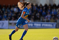 20190324 - OOSTAKKER , BELGIUM : Gent's Silke Vanwynsberghe pictured during the quarter final of Belgian cup 2019 , a womensoccer game between KAA Gent Ladies and RSC Anderlecht , at the PGB stadion in Oostakker , sunday 24 th March 2019 . PHOTO SPORTPIX.BE | DAVID CATRY