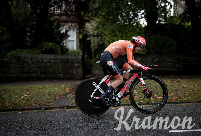Lucinda Brand (NED/Sunweb)<br /> Elite Women Individual Time Trial<br /> <br /> 2019 Road World Championships Yorkshire (GBR)<br /> <br /> ©kramon