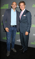 September 09, 2019 James Wilks, Dr. Mehmet Oz attend the premiere of The Game Changers  at the Regal Battery Park in New York. September 09, 2019 <br /> CAP/MPI/RW<br /> ©RW/MPI/Capital Pictures