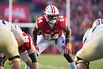 Wisconsin Badgers linebacker Chris Orr (54) looks on during an NCAA College Football Big Ten Conference game against the Purdue Boilermakers Saturday, October 14, 2017, in Madison, Wis. The Badgers won 17-9. (Photo by David Stluka)