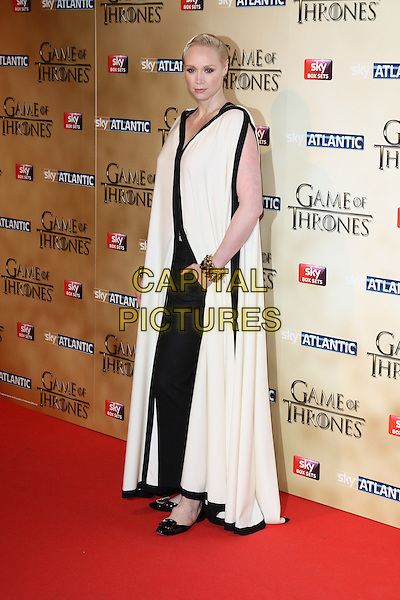 LONDON, ENGLAND - MARCH 18: Gwendoline Christie arrives for the world premiere of Game of Thrones Season 5 at Tower of London on March 18, 2015 in London, England<br /> CAP/ROS<br /> &copy; Steve Ross/Capital Pictures